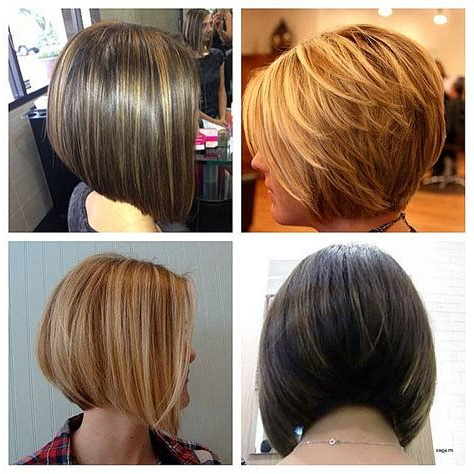The Full Stack: 50 Hottest Stacked | Angled Bob Hairstyles With Regard To Warm Balayage On Short Angled Haircuts (View 19 of 25)