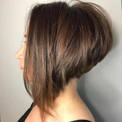 The Full Stack: 50 Hottest Stacked Haircuts In 2020 Pertaining To Balayage For Short Stacked Bob Hairstyles (View 5 of 25)