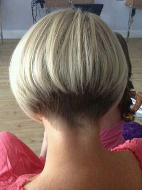 The Perfect Stacked Bobback View   Short Stacked Throughout Balayage For Short Stacked Bob Hairstyles (View 15 of 25)