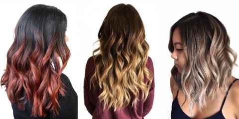 The Professionals At Matrix Explain The Difference Between Within Dimensional Dark Roots To Red Ends Balayage Hairstyles (View 16 of 25)