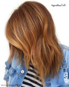 Featured Photo of Strawberry Blonde Balayage Hairstyles