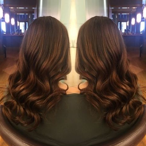 Transformation: Toned To A Rich, Dimensional Brunette For Dimensional Dark Roots To Red Ends Balayage Hairstyles (View 14 of 25)