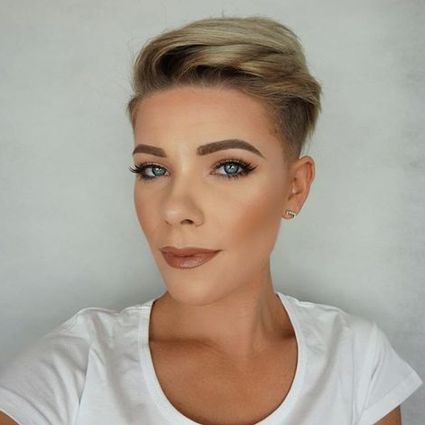 Undercut Women   Undercuts And Mohawks   Short Hair Regarding Most Recently Coral Mohawk Hairstyles With Undercut Design (View 16 of 25)