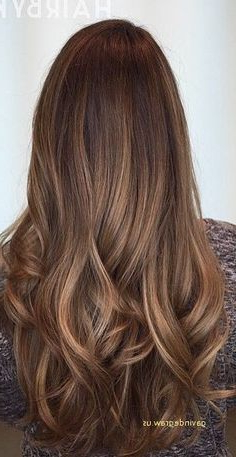 Unique Chestnut Brown Hair Color With Golden Brown Inside Chestnut Short Hairstyles With Subtle Highlights (View 17 of 25)