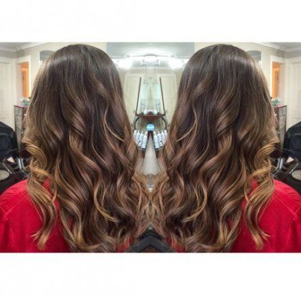 Wedding Hairstyles Brown Hair Beach Waves 34 Ideas With Regard To Beachy Waves Hairstyles With Balayage Ombre (View 7 of 25)