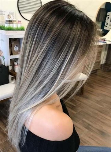 Woman Hairstyles   Hair Restoration Laboratories, # With Regard To Ash Blonde Balayage For Short Stacked Bob Hairstyles (View 9 of 25)