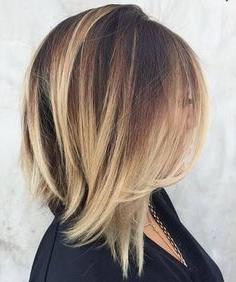 Zin Een Vlot Kapsel Met Schouderlengte? Check Dan Snel Regarding Balayage Highlights For Long Bob Hairstyles (View 10 of 25)