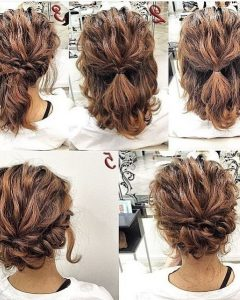 Cute Short Hair Updos