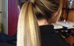 Fancy Sleek And Polished Pony Hairstyles