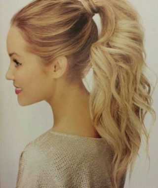 Princess-Like Ponytail Hairstyles For Long Thick Hair