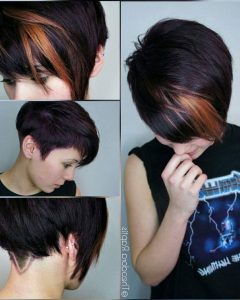 Shaggy Pixie Haircuts In Red Hues