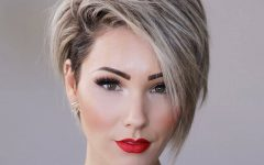Short Haircuts For Thick Hair Long Face