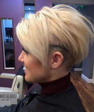 Short Edgy Haircuts For Girls