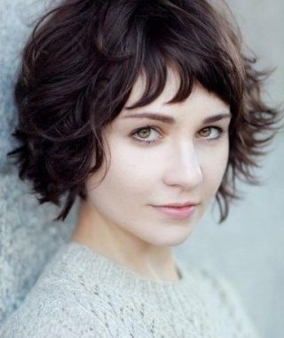 Shaggy Short Hairstyles For Round Faces