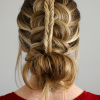 Nostalgic Knotted Mermaid Braid Hairstyles (Photo 10 of 25)