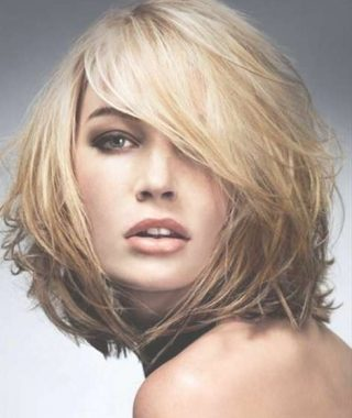 Medium Hairstyles For Thin Fine Hair And Round Face