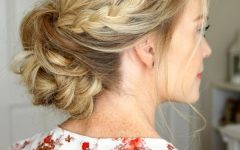 Low Bun Updo Hairstyles