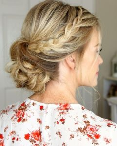 Article Curly Low Bun Prom Hairstyles