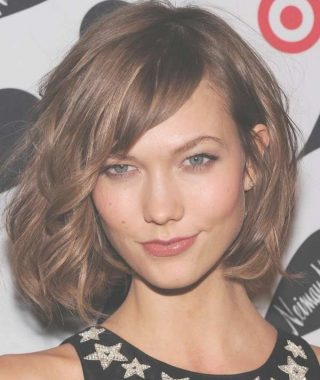 Side Fringe Medium Hairstyles