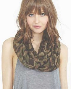 Medium Hairstyles With Bangs For Round Faces