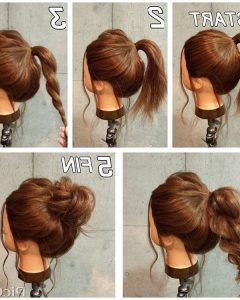 Easy Everyday Updo Hairstyles For Long Hair