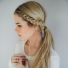 Asymmetrical French Braided Hairstyles (Photo 13 of 25)