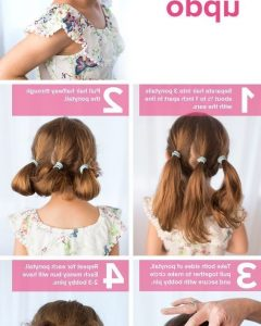 Children's Updo Hairstyles
