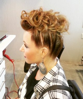 Mohawk Hairstyles With Pulled Up Sides