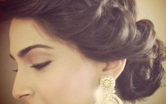 Simple Indian Bridal Hairstyles For Medium Length Hair