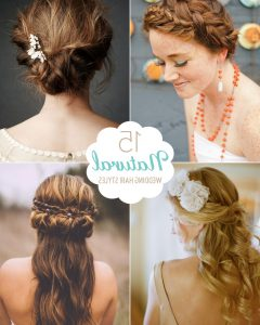 Natural-Looking Braided Hairstyles For Brides