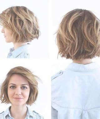 Layered Bob Haircuts For Wavy Hair