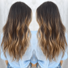 Curly Golden Brown Balayage Long Hairstyles (Photo 15 of 25)