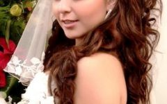Wedding Hairstyles For Long Hair Down With Tiara