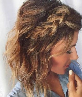 Side Braid Hairstyles For Medium Hair