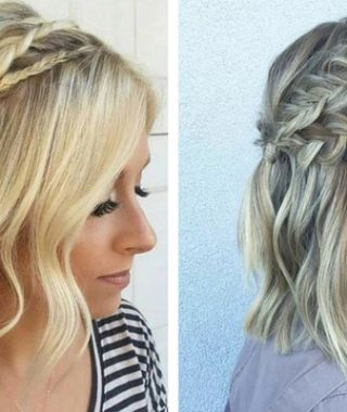 Braided Shoulder Length Hairstyles