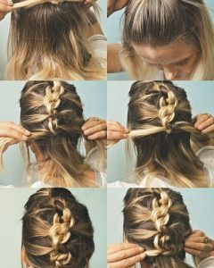Quick Braided Hairstyles For Medium Length Hair