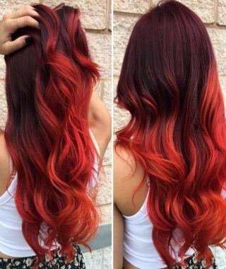 Long Hairstyles Red Hair