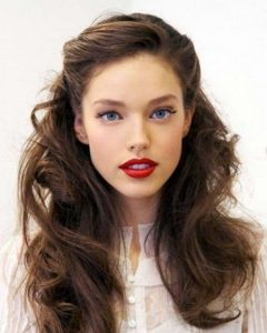 Sides-Parted Wedding Hairstyles