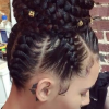 Afro Under Braid Hairstyles (Photo 1 of 25)