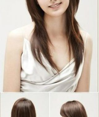 Long Straight Japanese Hairstyles