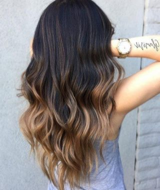 Long Voluminous Ombre Hairstyles With Layers