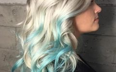 Blonde Hairstyles With Green Highlights
