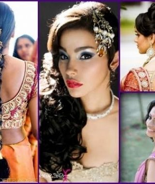 Indian Wedding Hairstyles For Short And Thin Hair