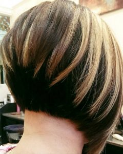 Honey Blonde Layered Bob Hairstyles With Short Back
