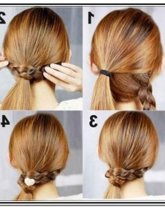 Easy Do It Yourself Updo Hairstyles For Medium Length Hair