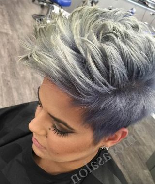 Asymmetrical Pixie Faux Hawk Hairstyles
