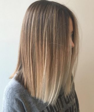 Medium Short Straight Hairstyles