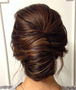 Classic French Twist Prom Hairstyles