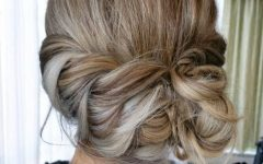 Loose Updo Hairstyles For Medium Length Hair