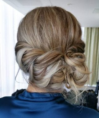 Soft Updo Hairstyles For Medium Length Hair